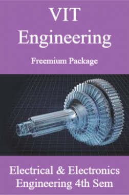 VIT Engineering Freemium Package Electrical and Electronics Engineering 4th Sem