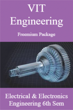 VIT Engineering Freemium Package Electrical and Electronics Engineering 6th Sem