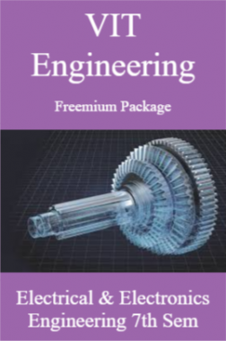 VIT Engineering Freemium Package Electrical and Electronics Engineering 7th Sem
