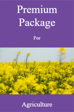 Premium Package For Agriculture