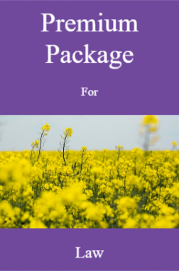 Premium Package For Law