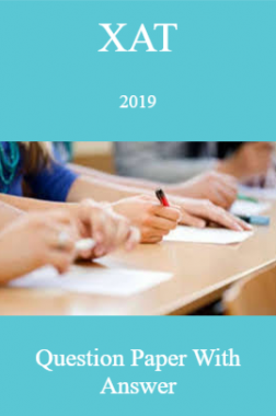 XAT 2019 Question Paper And Answer