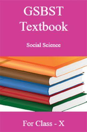 GSBST Textbook Social Science For Class - X