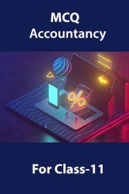 MCQ  Accountancy For Class-11