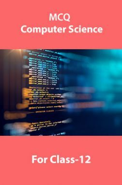 MCQ Computer Science For Class-12