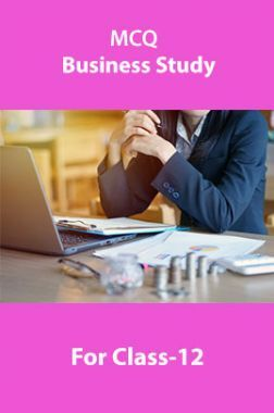 MCQ Business Study For Class-12