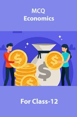 MCQ Economics For Class-12
