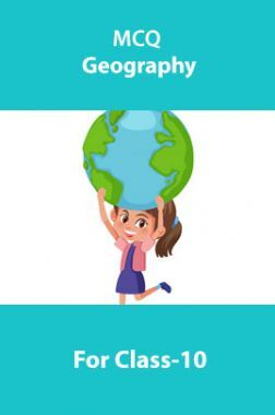 MCQ Geography For Class-10