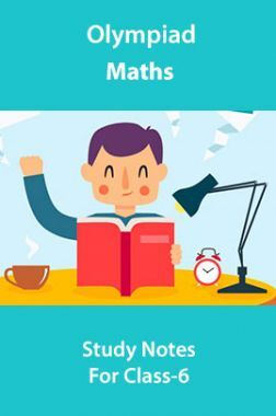 Olympiad Maths Study Notes For Class-6