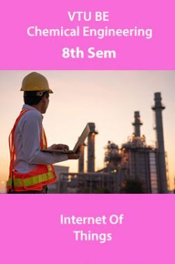 VTU BE Information Science And Engineering 8th Sem Internet Of Things