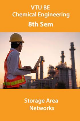 VTU BE Information Science And Engineering 8th Sem Storage Area Networks