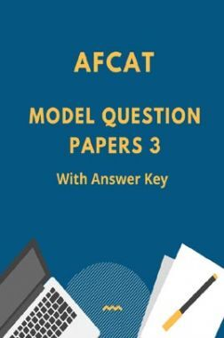 AFCAT Model Question Paper 3 With Answer Key