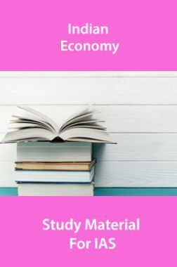 Indian Economy Study Material For IAS