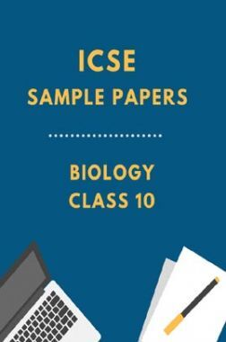ICSESample Paper For Biology Class 10