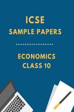 ICSESample Paper For Economics Class 10