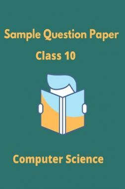 CBSE Sample Question Paper For Computer Applications Class 10