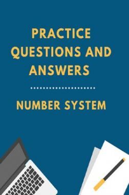 Practice Questions And Answers For Number System