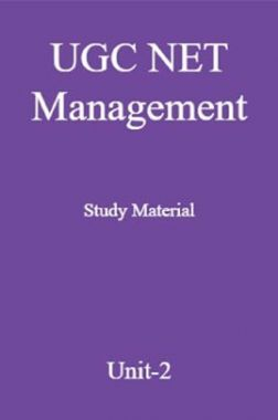 UGC NET Management Study Material Unit-2