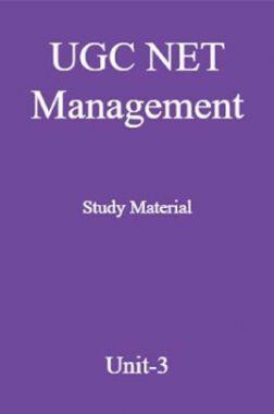 UGC NET Management Study Material Unit-3