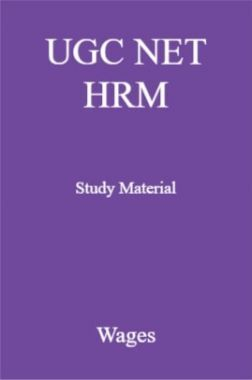 UGC NET HRM Study Material Wages