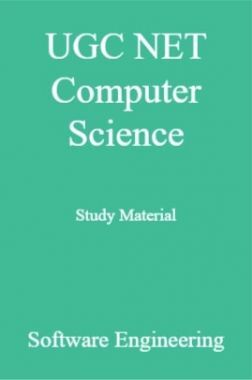 UGC NET Computer Science Study Material Software Engineering