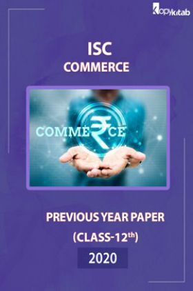 ISC Previous Year PaperClass-12Commerce 2020
