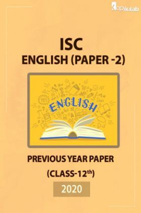 ISC Previous Year Paper Class-12English Paper 22020