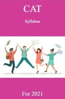 CAT Syllabus-2021