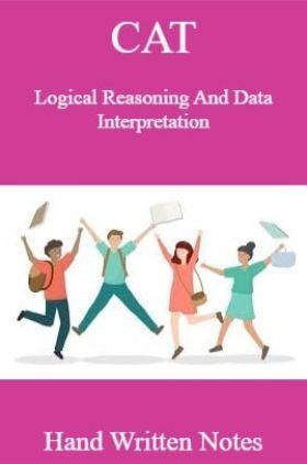 CAT Logical Reasoning And Data Interpretation Hand Written Notes