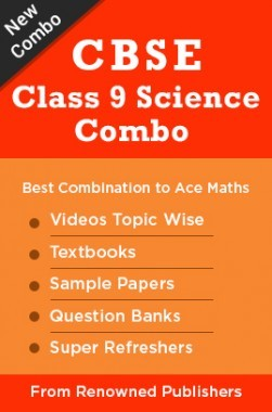 CBSE Class 9 Science Combo : Best Combination to Ace Science Textbooks, Sample Papers, Question Banks, Super Refreshers & Videos Topic wise from Renowned Publishers