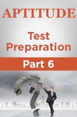 Aptitude Test Preparation Part 6
