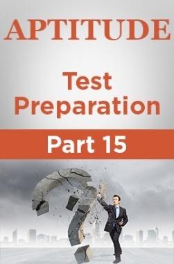 Aptitude Test Preparation Part 15