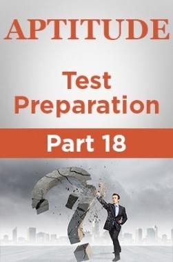 Aptitude Test Preparation Part 18