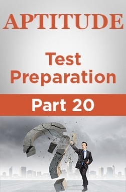 Aptitude Test Preparation Part 20