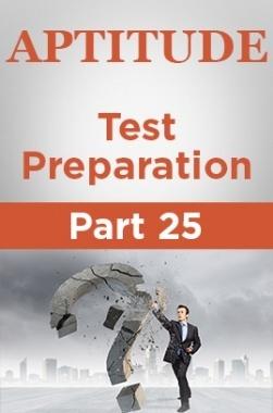 Aptitude Test Preparation Part 25