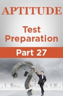 Aptitude Test Preparation Part 27