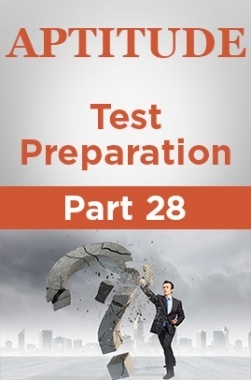 Aptitude Test Preparation Part 28