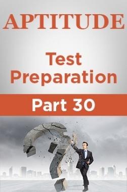 Aptitude Test Preparation Part 30