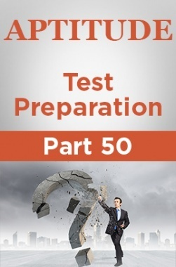 Aptitude Test Preparation Part 50