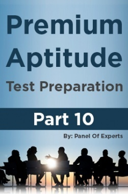 Premium Aptitude Test Preparation Part 10