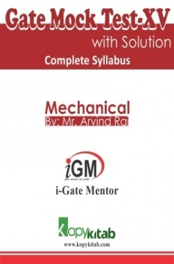 iGate Mechanical Mock Test XV With Solution