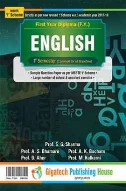 English Semester I (Common for all branches)