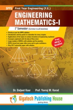 Engineering Mathematics-I Ist Semester (Common to all branches)