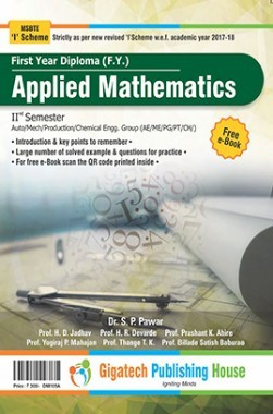 Applied Mathematics (Automobile and Mechanical Branch Only)