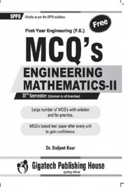 MCQ's Engineering Mathematics-II 2nd Semester Common For All Branch