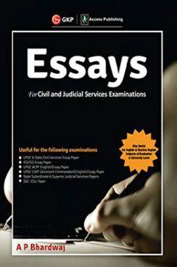 Essays For Civil And Judicial Services Examinations