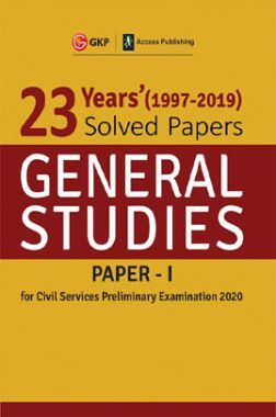 UPSC Pre Exam 23 Years Solved Papers (1997-2019) General Studies Paper-I