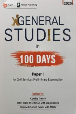 General Studies Paper-I In 100 Days