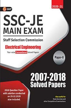 SSC JE Main Exam Electrical Engineering Paper II - Conventional Solved Papers (2007-2018)
