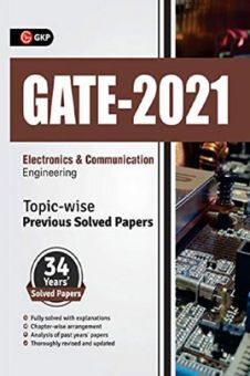 GATE 2021 Electronics & Communication Engineering Topicwise (34 Years Solved Papers)